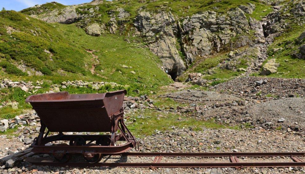 Une des entrées du complexe minier de Salanfe duquel ont été extraits 709 tonnes d'arsenic et 53 kilos d'or entre 1904 et 1928.
