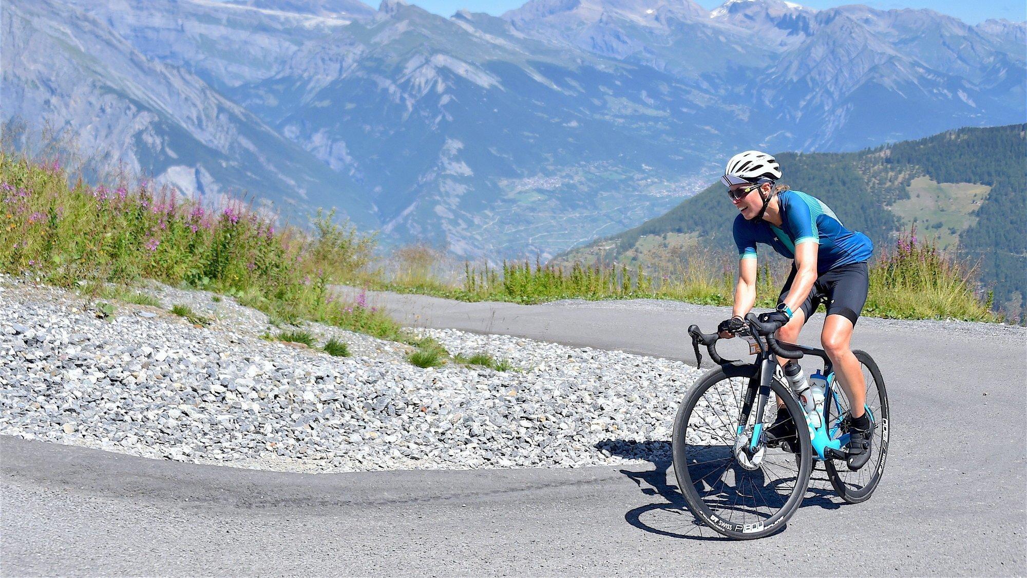 Cyclisme: le Tour des stations propose de gravir l'Everest… en Valais