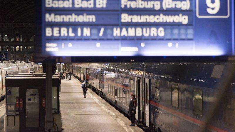 Transport ferroviaire: tout voyage en Allemagne est déconseillé à cause d'une grève