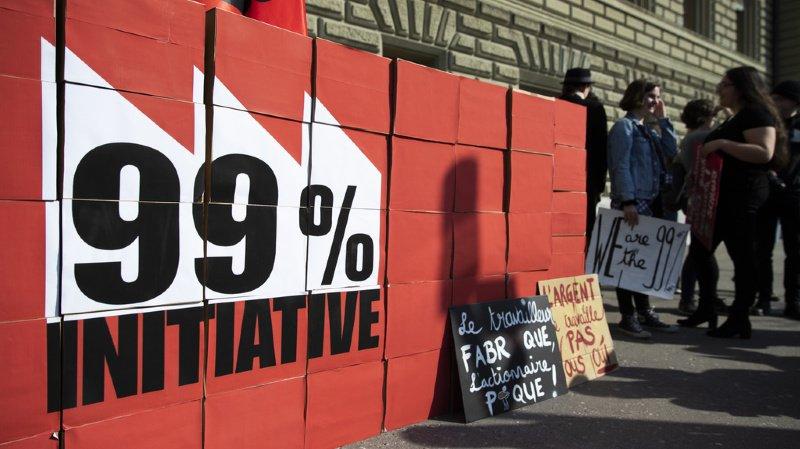 """Impôts: l""""'initiative 99%"""" menace les PME suisses, selon ses opposants"""