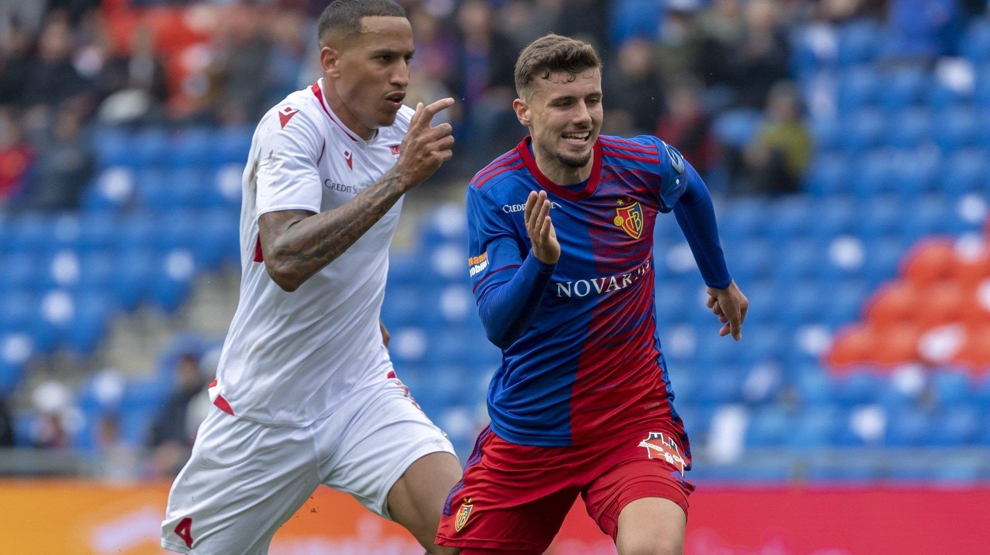 FC Sion: les notes des joueurs lors du match contre le FC Bâle