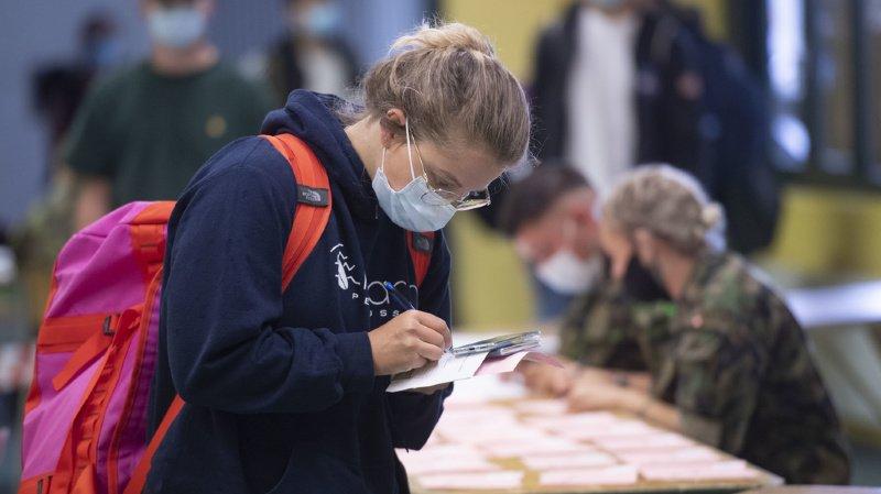 Armée: début de l'école de recrues avec possibilité de se faire vacciner