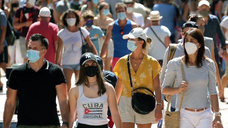 Coronavirus: en Haute-Savoie, le masque en extérieur est de nouveau obligatoire