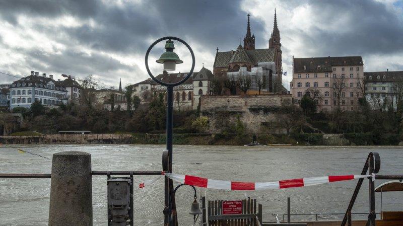La navigation est interdite à Bâle.