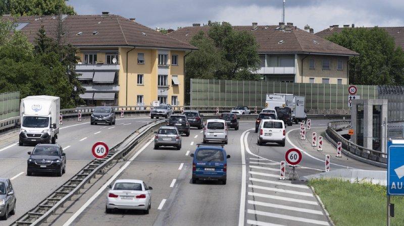 Autoroutes: la vitesse pourrait être réduite à 60 km/h à certains endroits