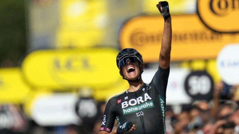 Tour de France: Nils Politt remporte la 12e étape, Küng cale dans le final