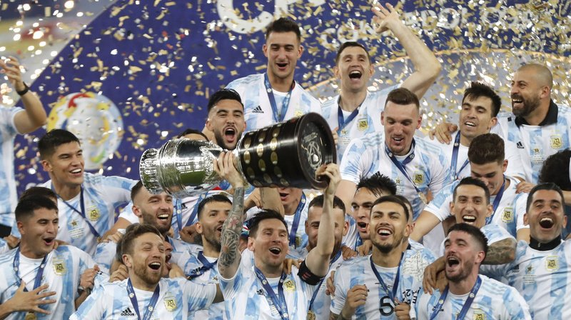 Lionel Messi et ses coéquipiers ont brisé la malédiction.