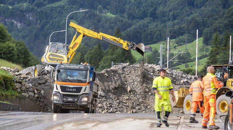 Inondations en Suisse centrale durant la nuit: des habitants d'un village évacués