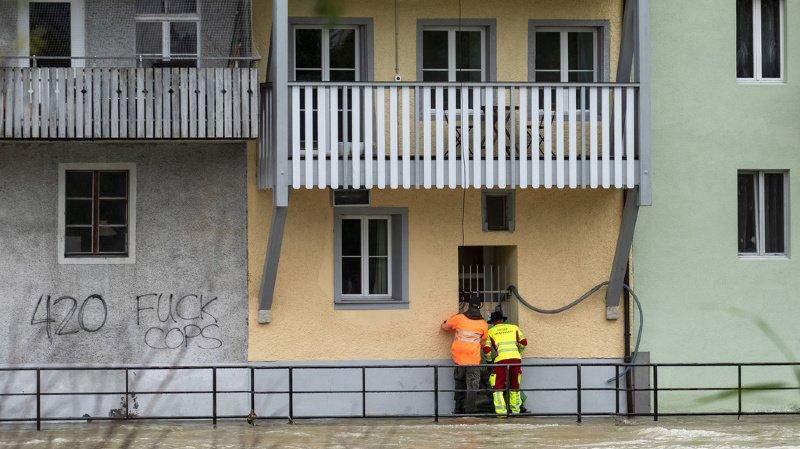 Intempéries: les assurances bâtiments estiment les dommages à 650 millions