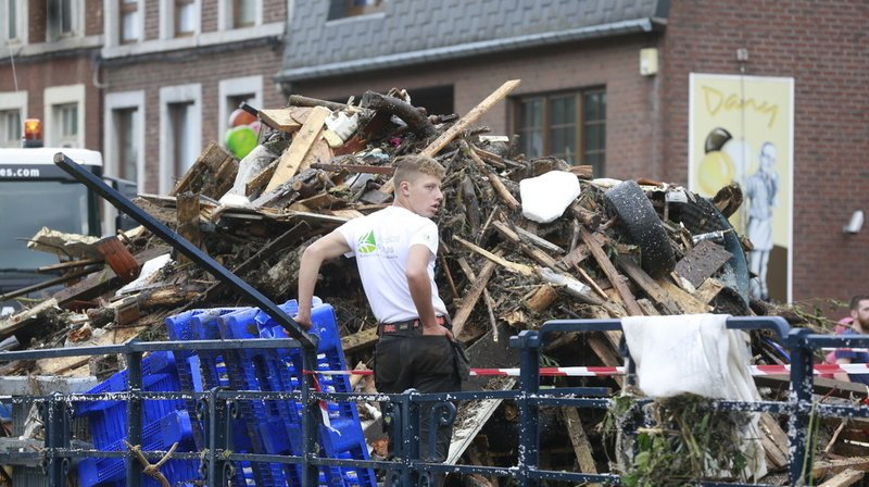 Inondations en Europe: la Belgique se recueille en hommage à ses 31 victimes