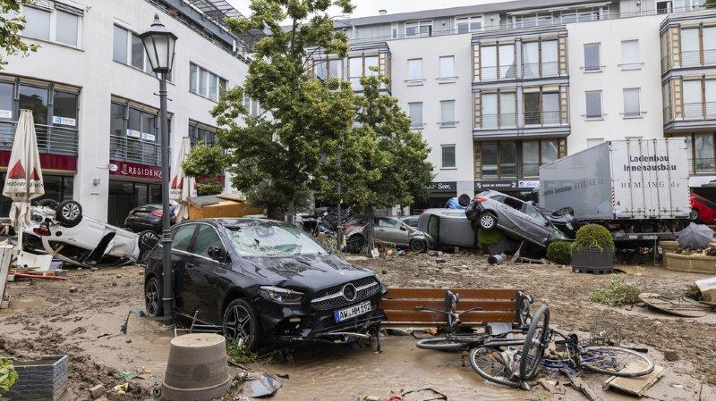 Inondations en Europe: au moins 190 morts, dont 159 en Allemagne