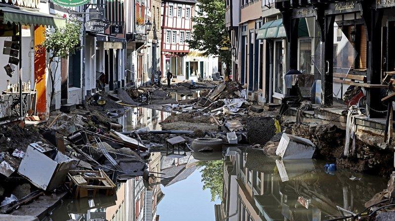 Inondations en Allemagne: le bilan s'alourdit à 165 morts