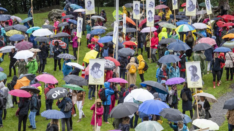 1er Août: Viola Amherd loue les femmes au Grütli des femmes