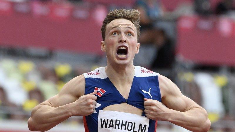 Athletissima: le champion olympique Karsten Warholm en vedette à Lausanne