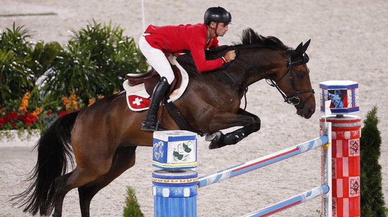 Steve Guerdat visait une médaille olympique.