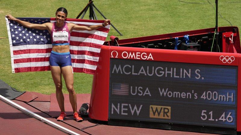 JO2021 – 400 m haies: Sydney McLaughlin explose le record du monde