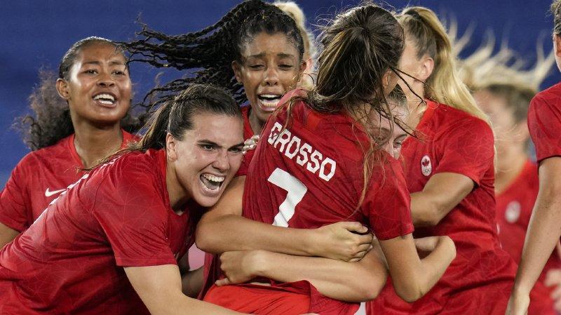 JO 2021 - Football: les Canadiennes championnes olympiques au bout du suspense!