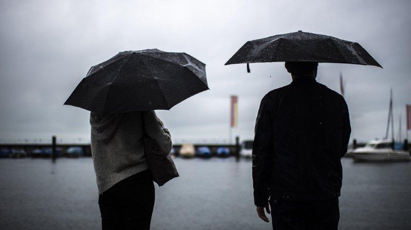 Météo: d'énormes quantités de pluie en Suisse au cours des 3 derniers jours
