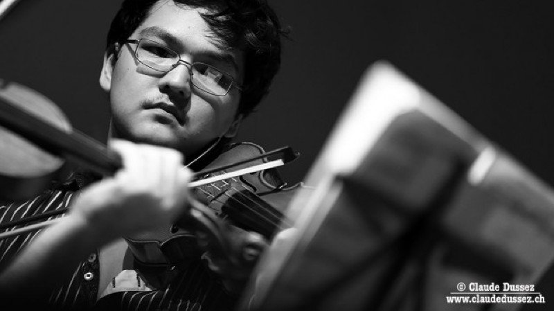 Académie de Musique Tibor Varga : Letzte Viola Masterclass Konzert