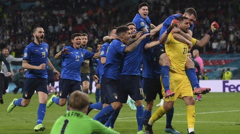 Euro 2021: l'Italie de retour au sommet après une séance de tirs au but