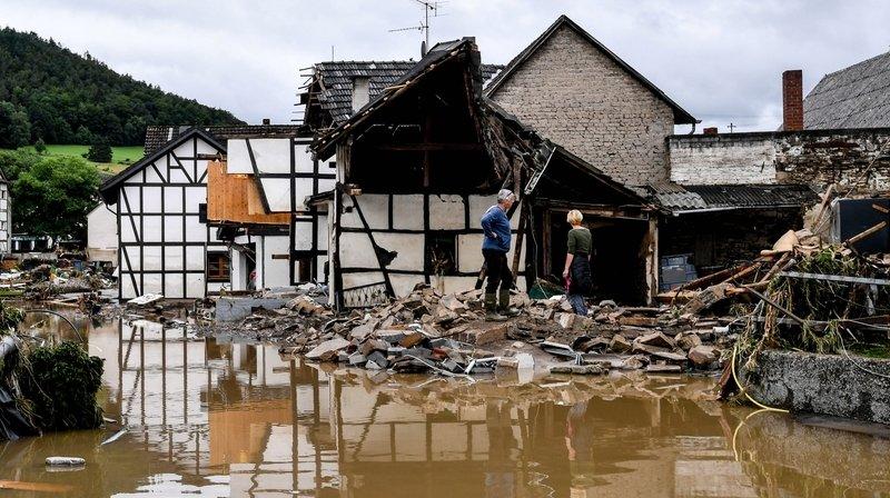 Inondations en Allemagne: un déluge meurtrier et hors normes