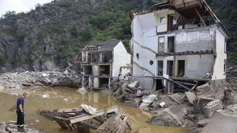 Inondations en Allemagne: «Le système d'alarme a été défaillant»