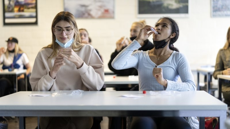 Coronavirus: le président des enseignants romands veut des tests systématiques à l'école