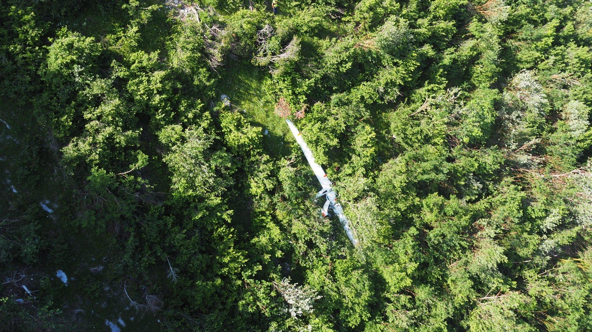 Conthey: un motoplaneur chute, son pilote décède