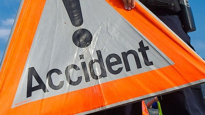 Un accident a eu lieu sur l'autoroute à la hauteur de Conthey jeudi après-midi.