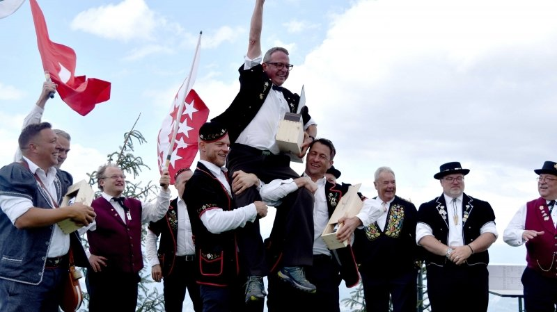 Adolf Zobrist a triomphé d'une forte concurrence pour remporter le concours de ce 20e Festival de Nendaz.