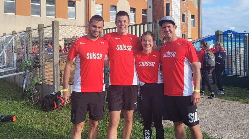 Athlétisme: deux Valaisans ont pris part à leur première compétition internationale