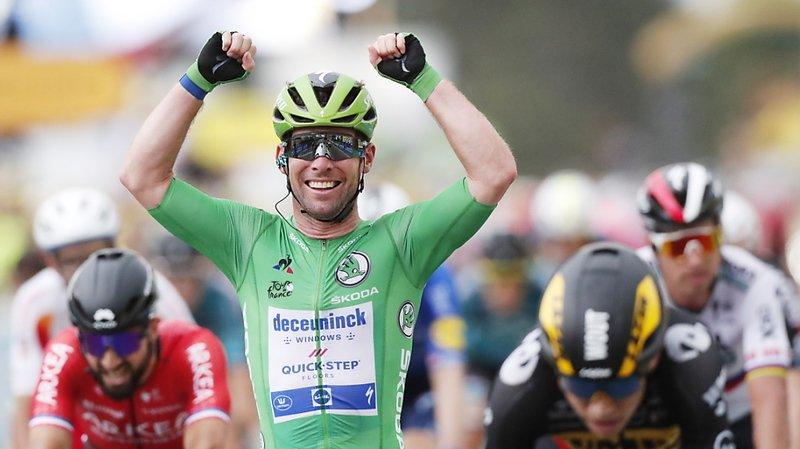 Cyclisme – Tour de France: Cavendish remporte la 10e étape du Tour de France