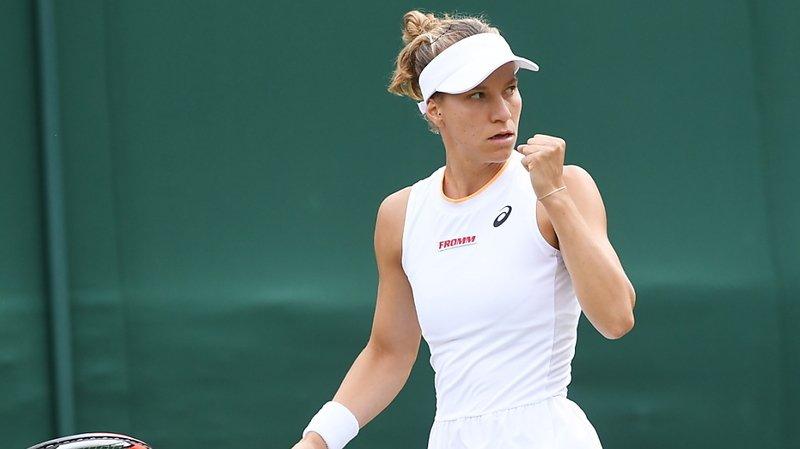 Viktorija Golubic jouera les quarts de finale à Wimbledon.
