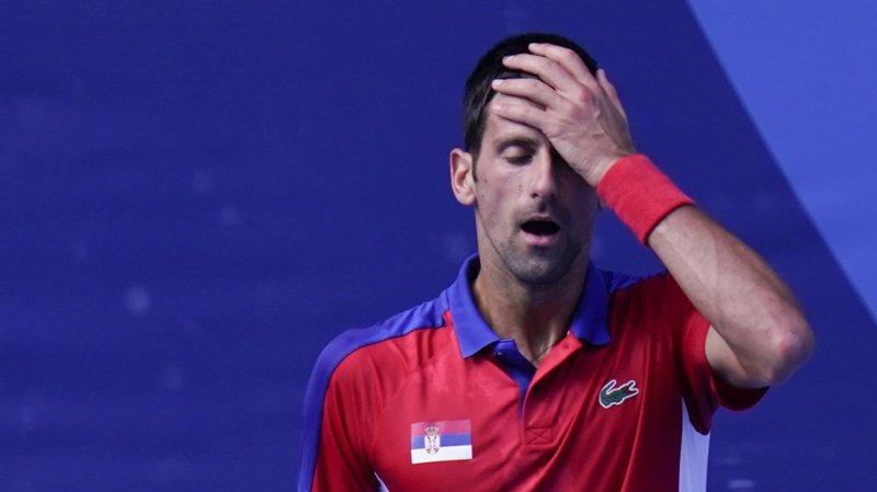 JO 2021 - Tennis: Djokovic, encore battu, rate le bronze et déclare forfait pour le double mixte
