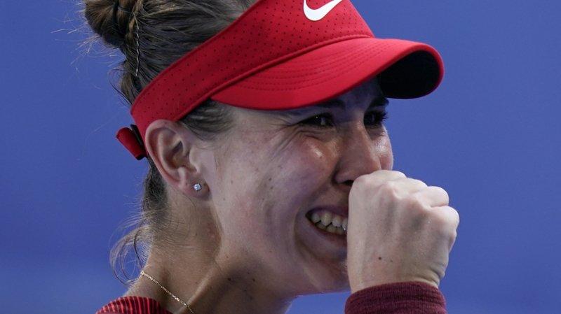 JO 2021 et tennis: le duo Bencic/Golubic se hisse aussi en demi-finale