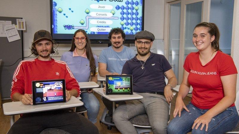 Epilepsie: des Valaisans inventent un jeu vidéo pour sensibiliser les jeunes patients