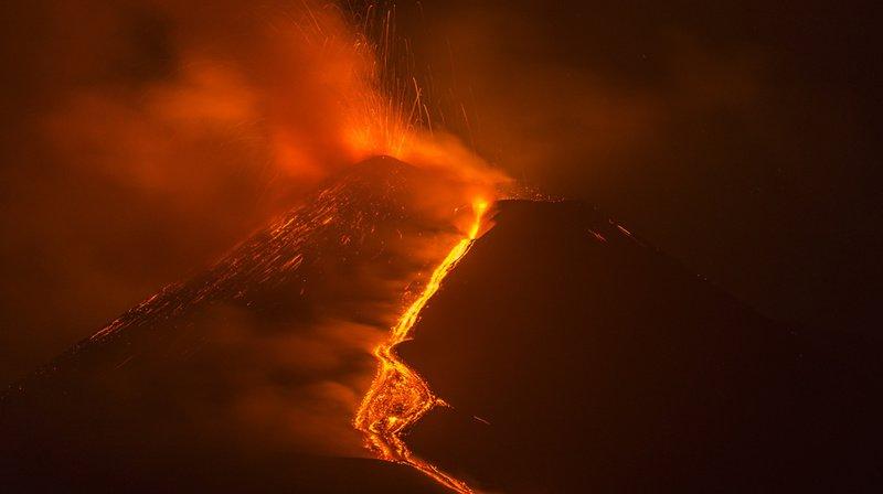 Italie: le plus haut volcan européen grandit et culmine à 3357 mètres