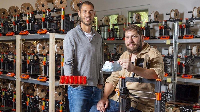 «Ce produit nous a permis de développer la plus grande ferme d'imprimantes 3D de Suisse romande» L'interview d'Olivier Chollet, ValaiStar 2021