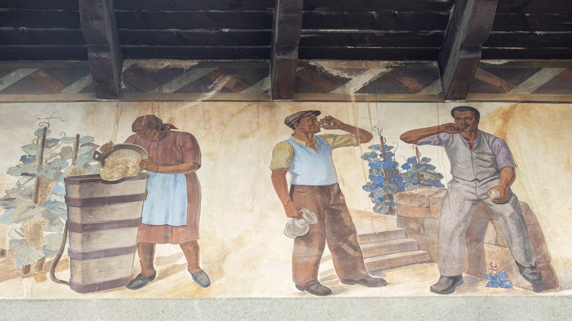 33 mètres de long: des Fulliérains veulent sauver une fresque monumentale