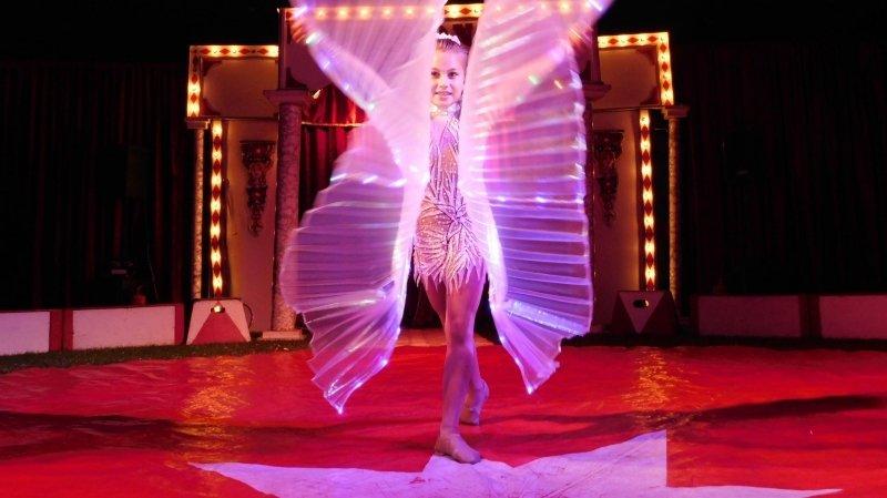 Un univers féerique habille la tournée «Imagine» du cirque Helvetia.