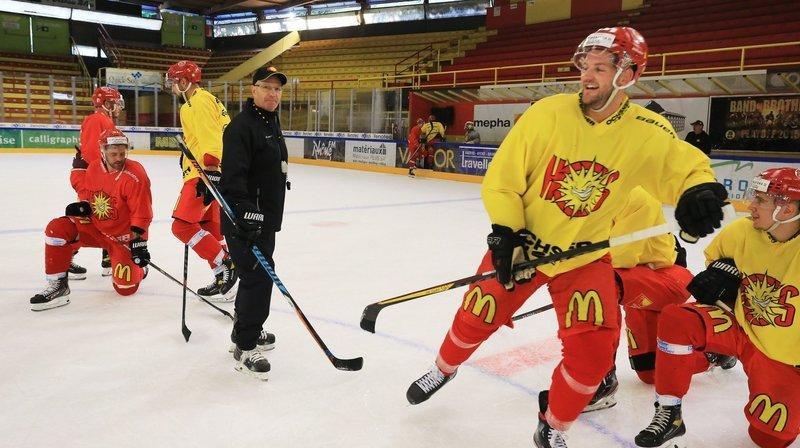 Hockey: en attendant ses renforts, Sierre a retrouvé la glace