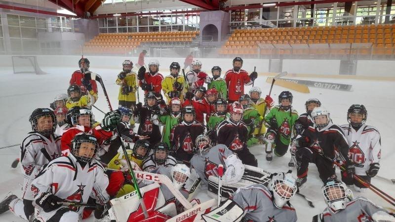 La 4e édition du camp de développement de l'Association valaisanne de hockey sur glace couronnée de succès