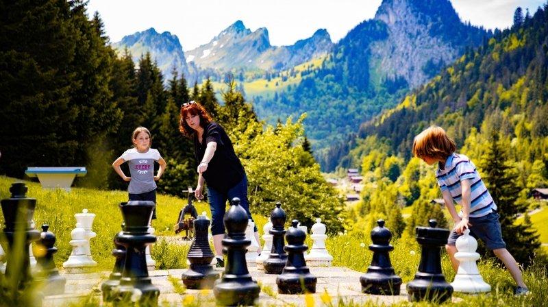 Petits et grands pourront retrouver un jeu d'échecs géant parmi les dix attractions proposées.