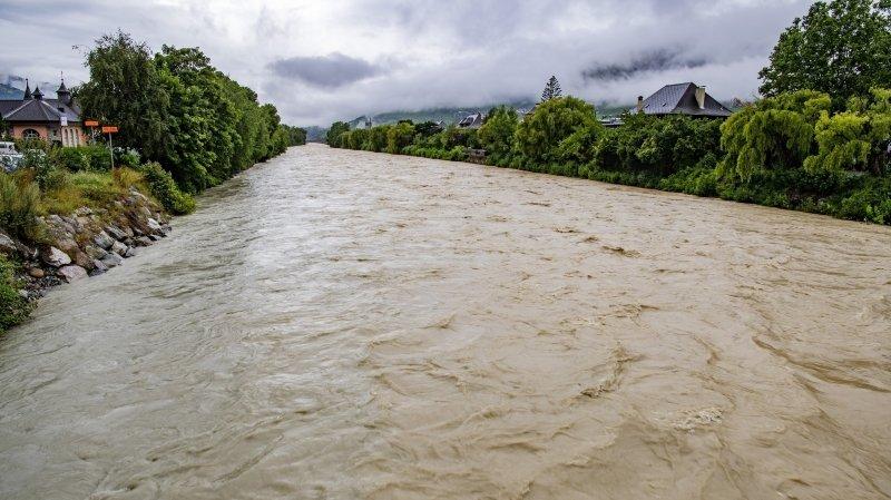 Le danger de crue du Rhône est désormais géré par un nouveau Service des dangers naturels.