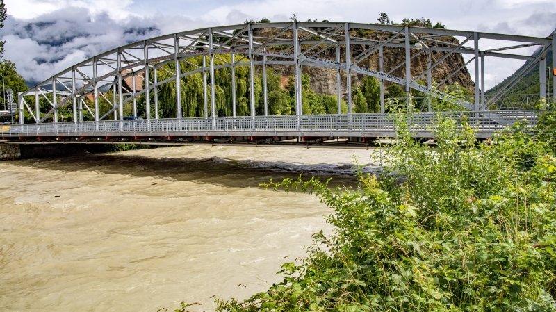 Intempéries en Valais: la situation est sous contrôle