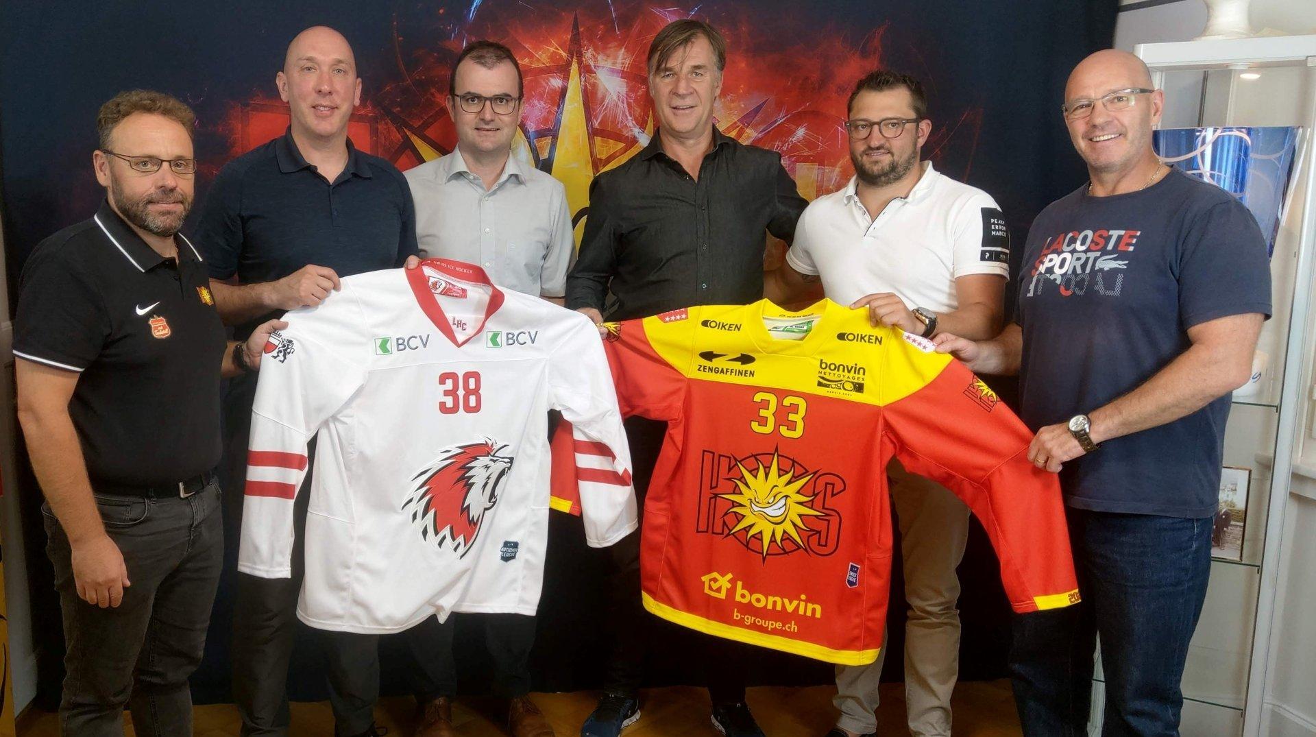 Hockey: le HC Sierre va collaborer avec le Lausanne HC