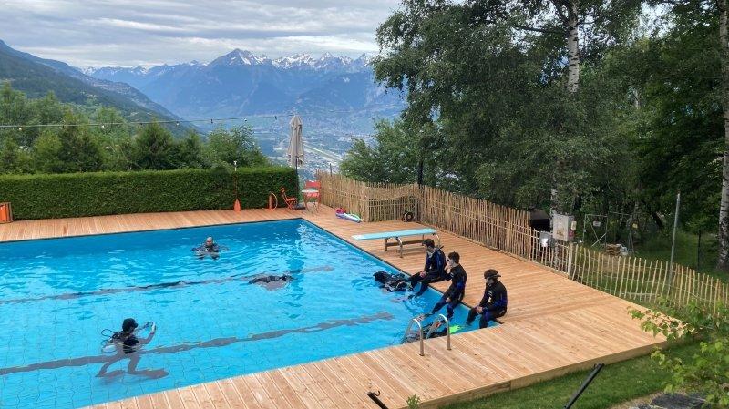 Les piscines valaisannes face à un été pourri