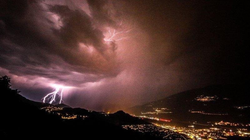 Valais: attention aux orages ce week-end
