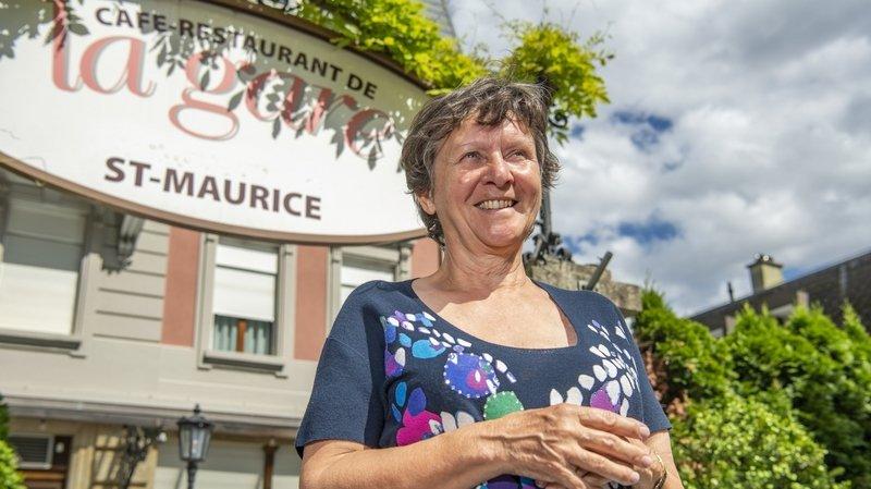 Saint-Maurice: Patricia Lafarge remet le Café de la Gare après trente-cinq ans de service
