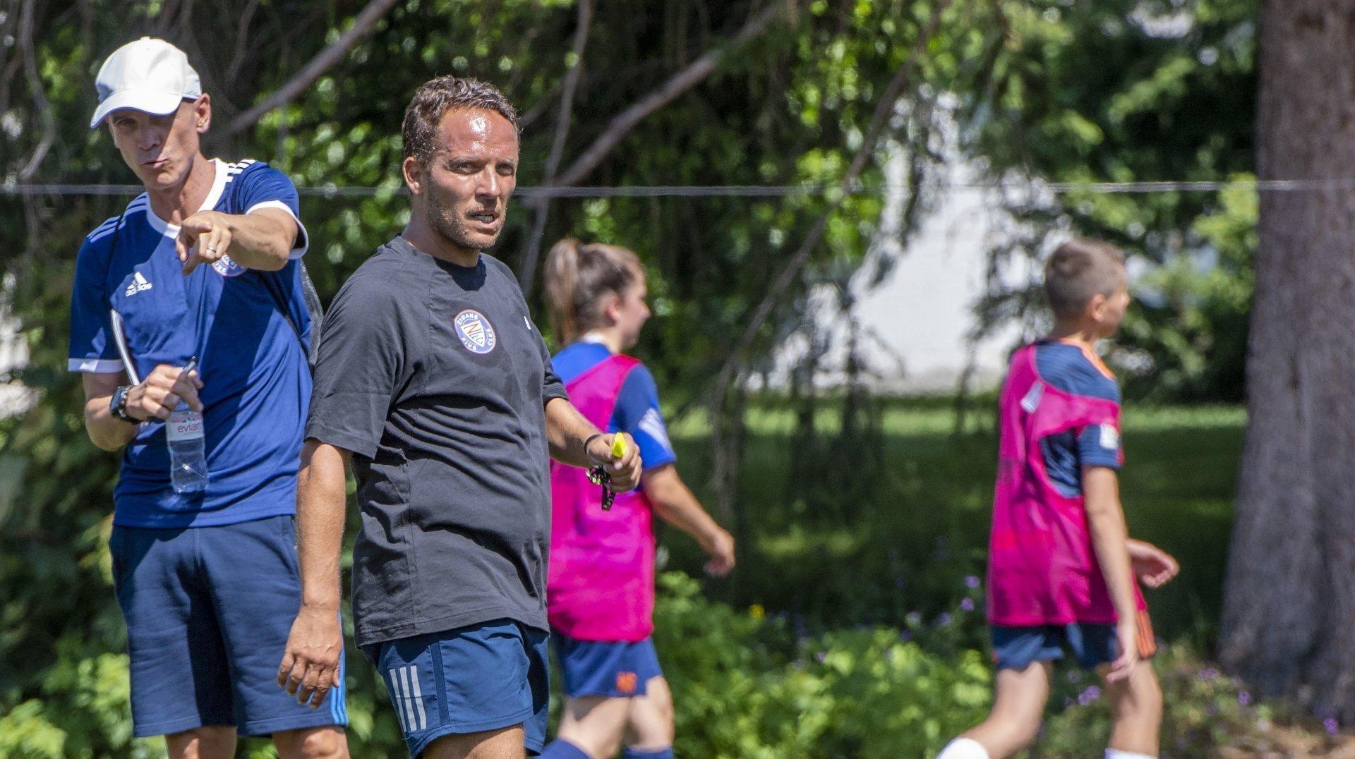 Football: l'esprit de Zinédine Zidane souffle sur Crans-Montana